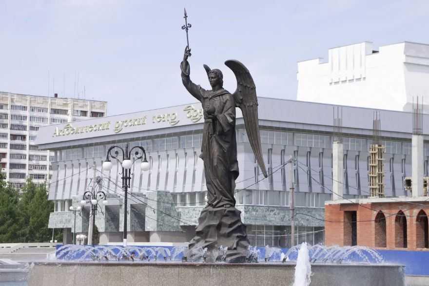 Архангел Гавриил - д достопримечательность Йошкар-Олы.