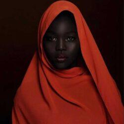 «Королева тьмы» модель из Южного Судана.