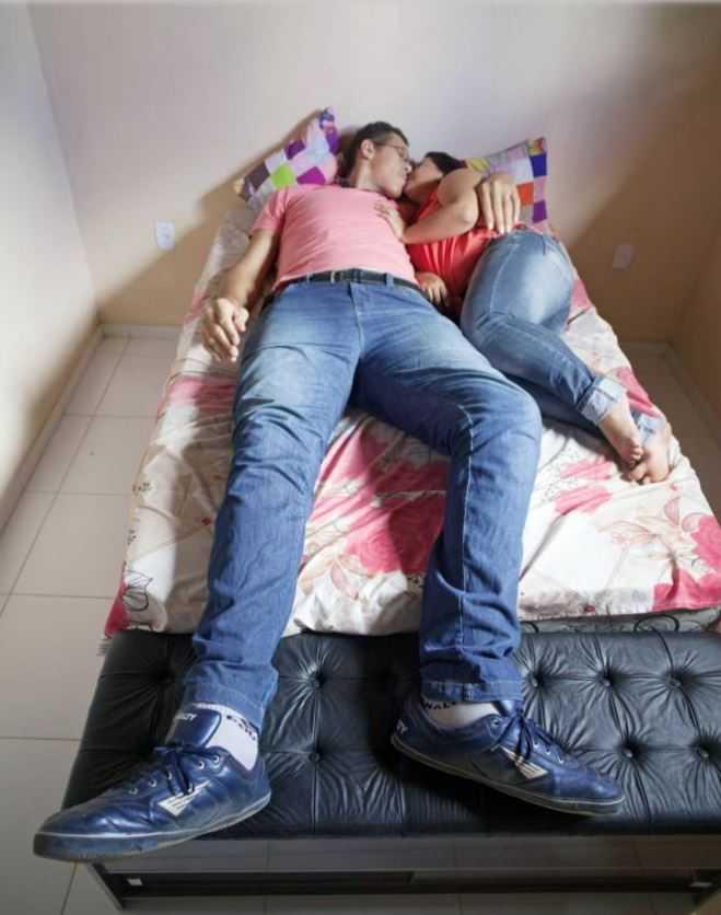 Самый высокий мужчина Бразилии выбрал в жены