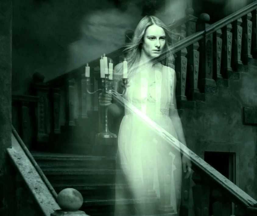 Призрак Зеленой Леди в поисках верного лакея.