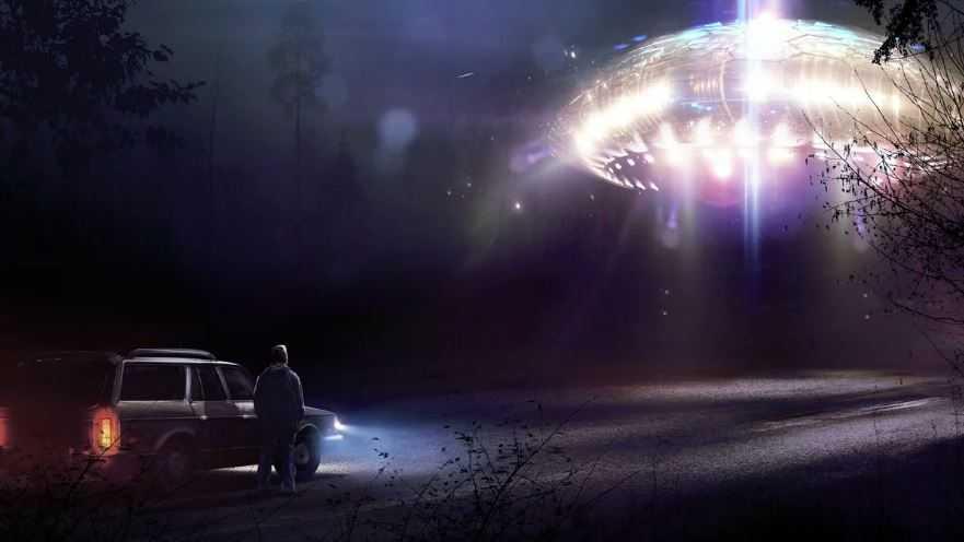 Автомобилисты снова и снова сообщали о наблюдении НЛО.