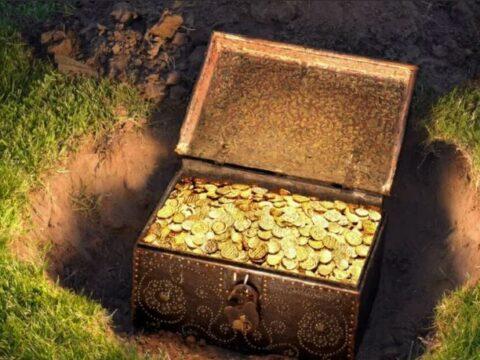Сокровища найдено!