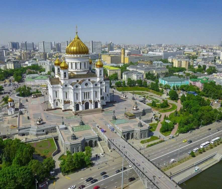 Храм Христа Спасителя у Москвы-реки, Москва.
