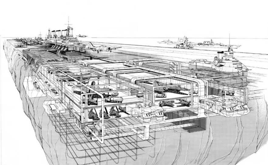 Авианосец из льда интересный — проект Второй Мировой Войны!