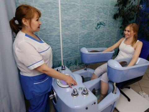 Современная электрическая ванна, которую вы можете использовать дома.