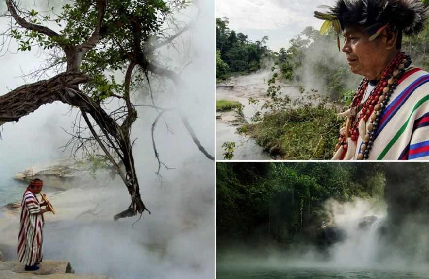 В сердце амазонских джунглей на территории Перу обнаружена кипящая река.