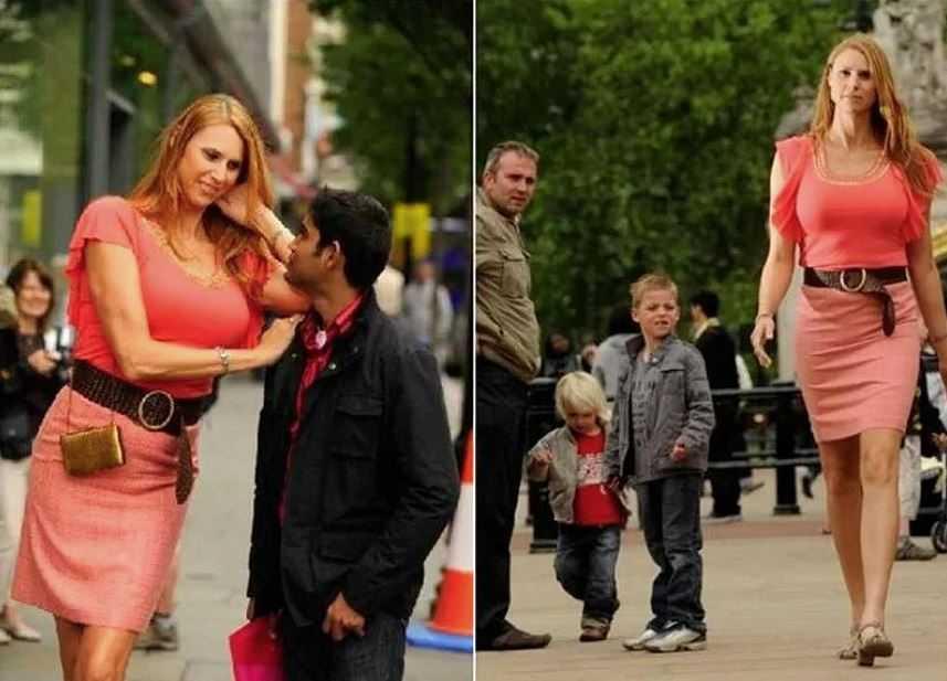 Эта девушка является самой высокой моделью в мире.
