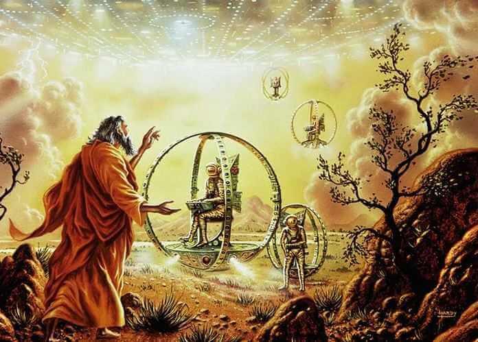 В Библии упоминаются похищения древними пришельцами