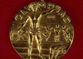 Живые «экспонаты» в олимпийских играх 1904 года