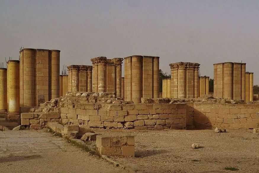 Руины древнейшего города Иерихон.