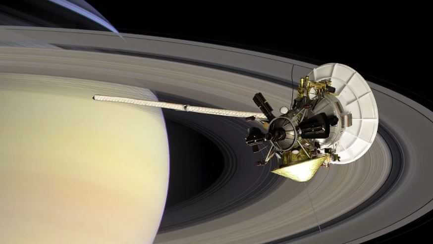 Кольца Сатурна.