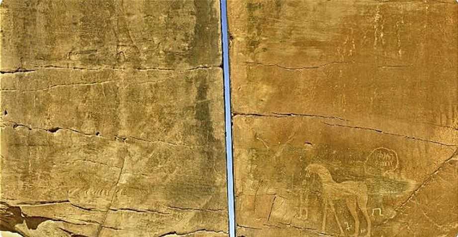 Мегалит был обнаружен Чарльзом Хувером в 1883 году. С тех пор не утихают споры, и рождаются версии об образавании идеального раскола.