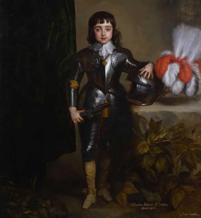 Антонис Ван Дейк, принц Чарльз, В Стиле Барокко.