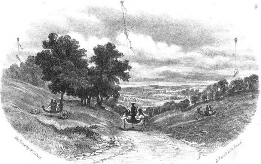 Не зависимо от направления ветра, кареты могли двигаться в разном направлении.