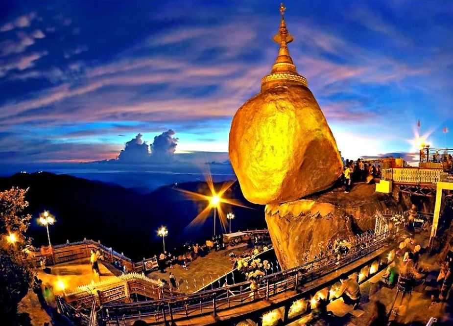 Золотой валун Будды.