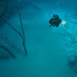 Река Мексики: сюрреализм природы
