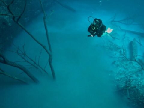 Подводная река.