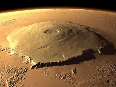 Олимп на Марсе.