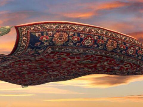 Летающие ковры.