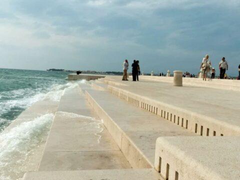 Море Хорватии.