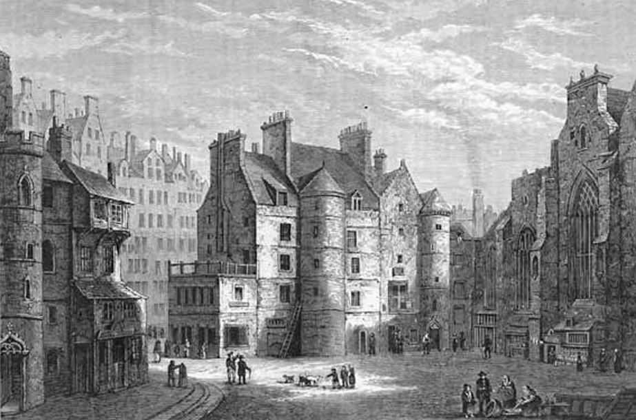 Старая эдинбургская тюрьма - Old Tolbooth.