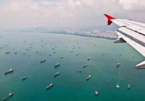 Самая большая стоянка кораблей в истории!