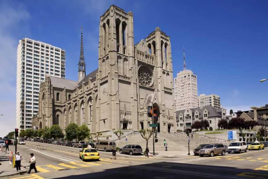 Сан-Франциско, - собор Грейс.