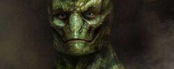 Улыбающийся гуманоид: пришелец с планеты Ланулос