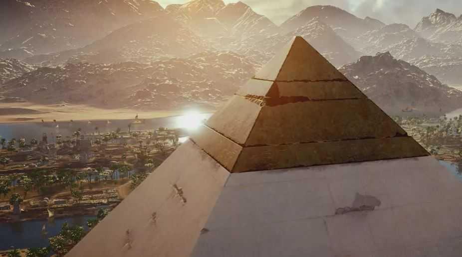 Где замковый камень Великой пирамиды?