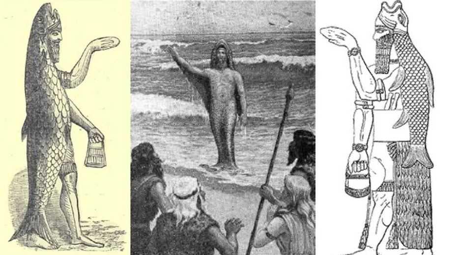 Оаннес был похож на рыбу, одаренную разумом.