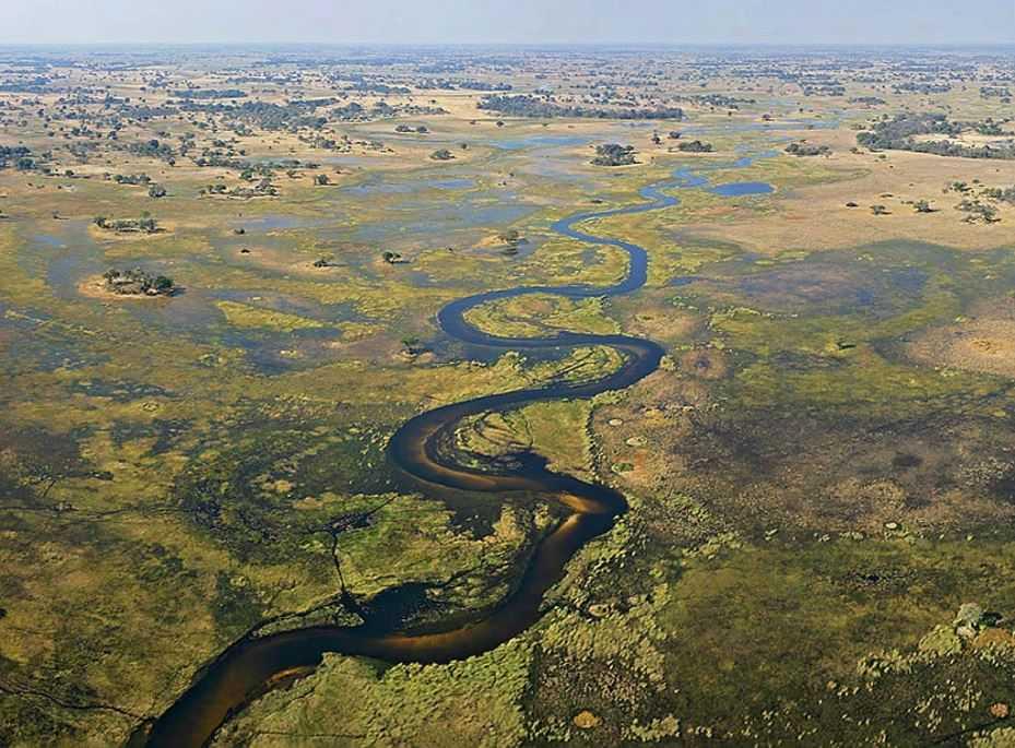 Дельта Окаванго, Ботсвана.