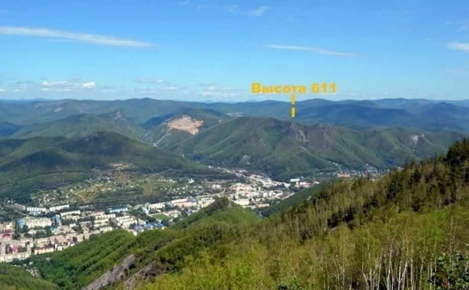 Дальнегорск и Высота 611, на которой произошло крушение НЛО.
