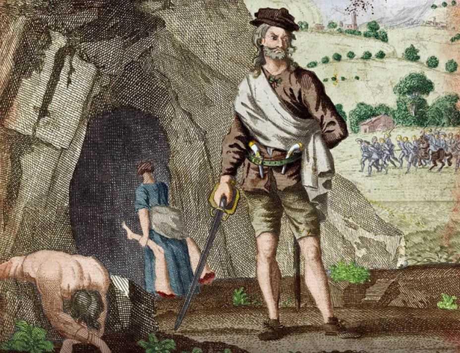 Александр Бин, основатель и предводитель клана каннибалов.