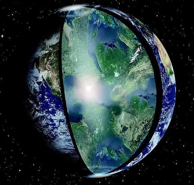 Легендарный город Агарта. Райский мир Лемурийцев.