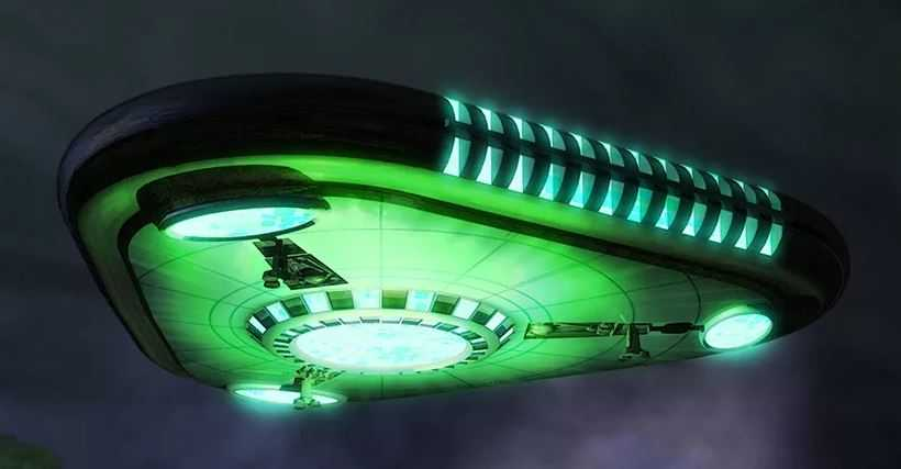 Сообщения о НЛО в Косфорде: Ник Поуп