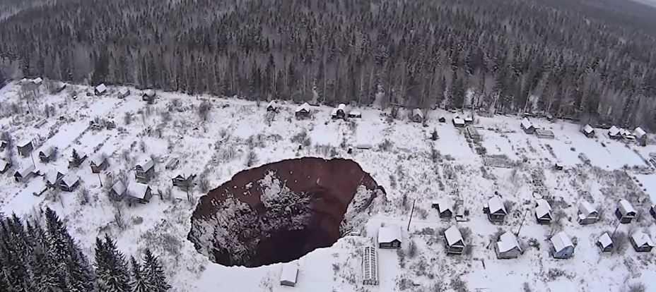 Тайна ямальского кратера: ученые выясняют причины образования гигантской дыры.