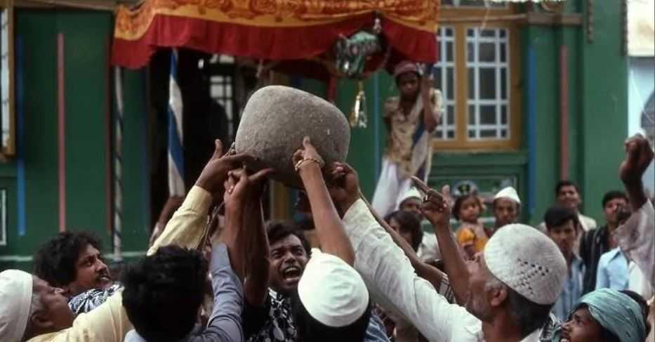 Парящий камень: индийская тайна, весом 100 кг