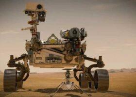 Марс: посадка Perseverance в прямом эфире.