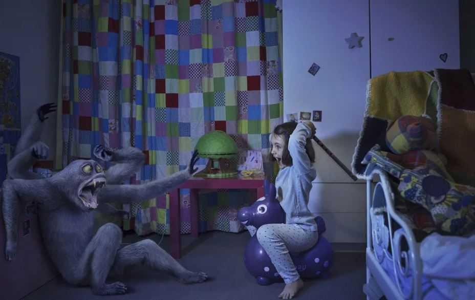 Детская фантазия, или невидимая сущность?