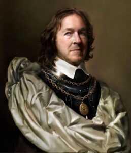 Оливер Кромвель известен как видный государственный деятель.