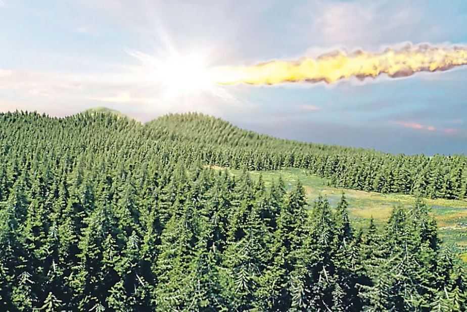 Тунгусский метеорит был сбит НЛО, чтобы спасти Землю