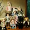 У вас дома есть куклы? Ни чего не замечали…