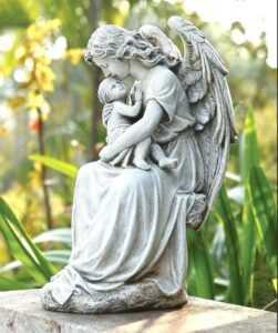 Появившийся ангел, как последний знак.
