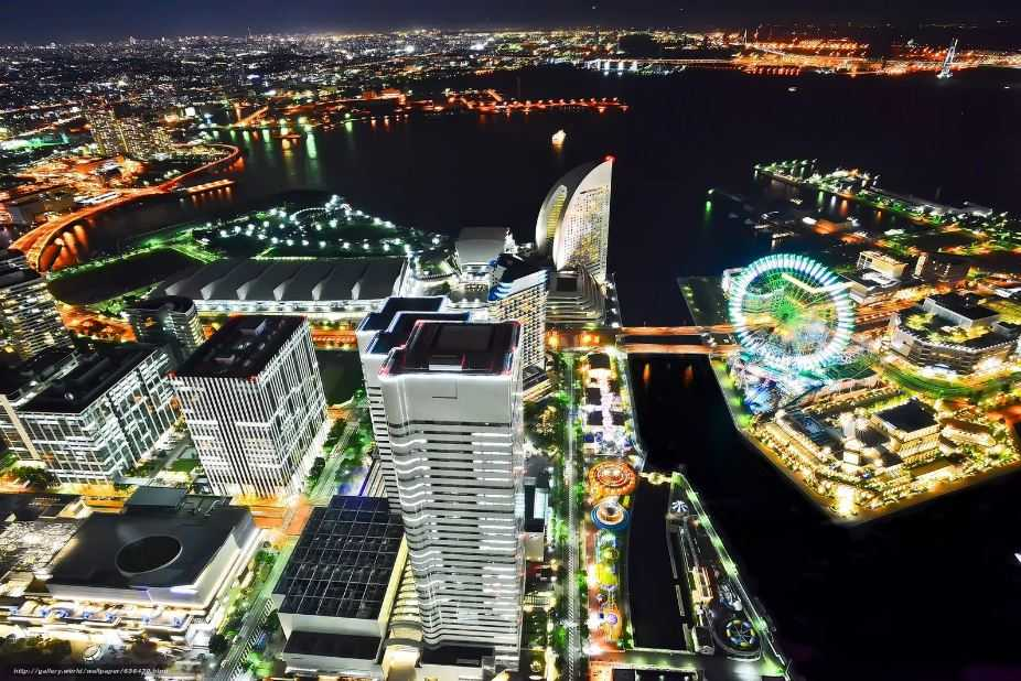 Йокогама - крупнейший портовый город в Японии и является городом-спутником Токио.