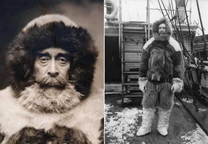 Претендент на роль первооткрывателя Северного полюса Роберт Пири.