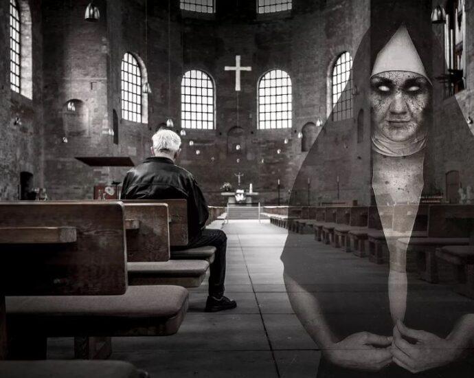 Призрак церкви.