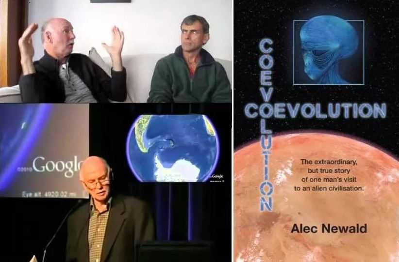 Новозеландец Алек Ньювальд. Более 30 лет назад в 1989 году был похищен НЛО на 10 дней. О своих приключениях Алек издал книгу