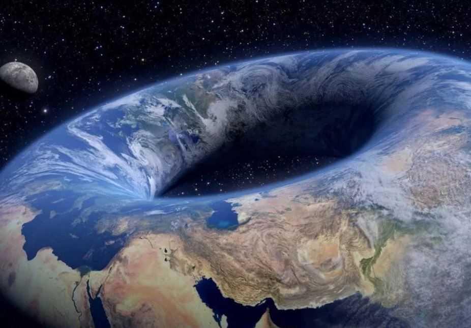 Когда разрешится спор: Земля круглая или плоская... Можно будет начать другой...