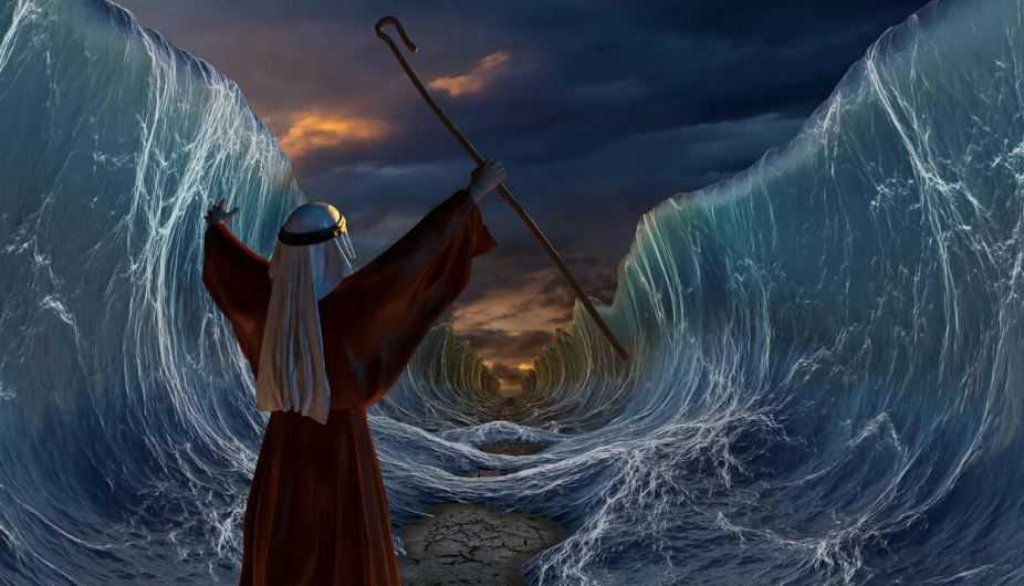 Моисей провел евреев по дну морскому. Как это возможно?