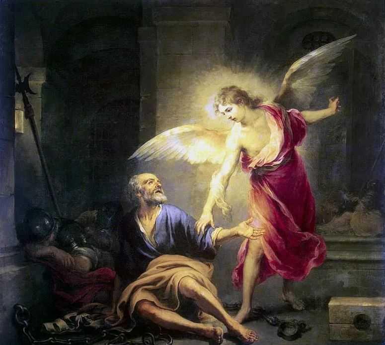 Освобождение апостола Петра из темницы.